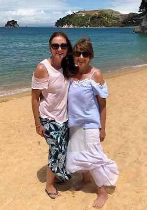 Jo (daughter) and Sandie