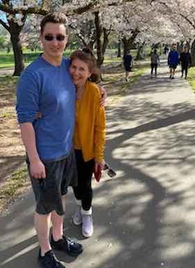 Ben Son with Sandie